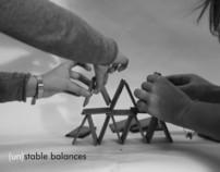 (un)stable balances