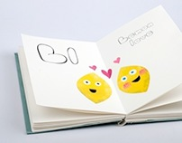 Handmade Font and Childrens Book: Baby Butts