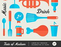 Taste of Madison Print