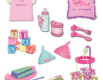 Pink Panther and Pals Product Design