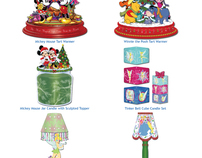 Disney Trim-A-Tree Candle Product Designs