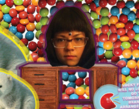 SKITTLES MICROSITE: Cooking with Violet.