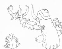 Biomorphic sketchbooks