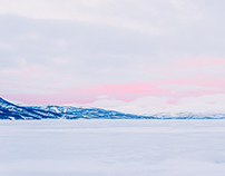 Thick Ice, Pink Sky