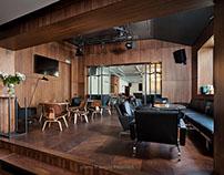 Grill-Bar KOROVA. Interior by  Natalia Galonskaya.
