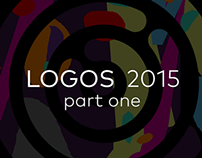 Various logo designs 2015, part one