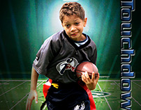 Kids Football Poster Design 2012