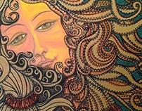 "Contemporary Art: ""Tribute to: Venus in Liberty """