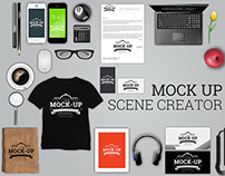 Stationary Mock-Up Scene Creator