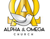 Alpha & Omega Church logo project