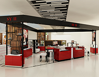 Permanent Counter Leasing Area