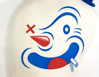 """Plush Coney Figures for Brian """"Candykiller"""" Taylor"""