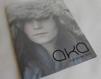 AKA - fashion brochure/catalogue