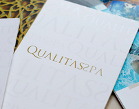 Qualitas Spa Catalog and Photo Shoot