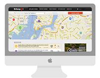 Bribespot.com web & application redesign
