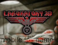 Laboratory 3D, first person shooter for j2me (2007)