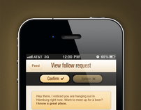 View follow request