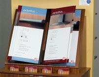 Arietta Special Order Merchandiser and Spec Book