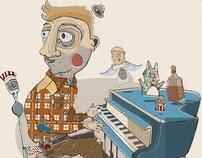The Happy Piano Man..