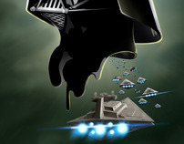 Darth Vader & the battle ship