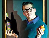 D'Vine Wine Ads