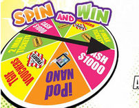 Caribbean Cool Spin and Win