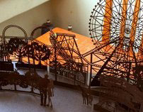 Paper Cutting_Amusement Park