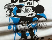 Soulville X Futuraclure / T-shirts Hip-Hop is Dead