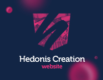 Hedonis Creation website [2012]