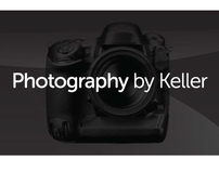 Photography by Keller website and print ad design