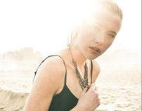 Angel on a beach