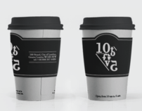 10 to fiv5 | Coffee Lounge | Branding