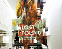 Lost + Found exhibition design