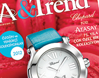 A&Trend Magazine Cover - Summer 2012