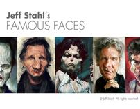 CARICATURES - Famous faces