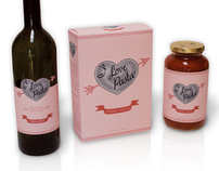 Packaging: I Love Pasta logo & package