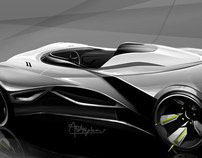 BHATARA Concept - F1 Car Inspired Vehicle