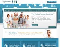Web Design for Training Company