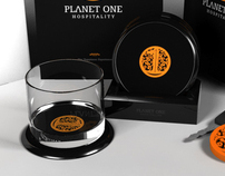 Planet-One Hospitality branded stationary pitch