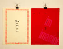 Letterpress Contrast Quote