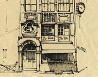 sketches Paris-Amsterdam