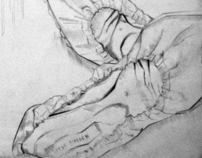 My Shoes - Straight Line Drawing