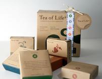 Tea of Life Packaging