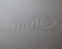 Mute - Visual identity