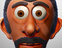character modeling Cartoon zbrush