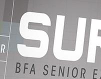 Surge BFA Show Poster