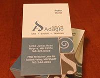 Salon Adagio Branding