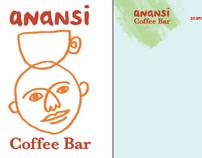 Anansi Coffee Bar (branding)