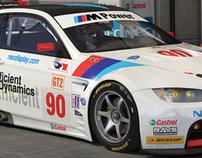 Rahal Letterman Racing BMW M3 GT2 (workflow study)