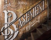 Lola Jeans Basement Speak Mural